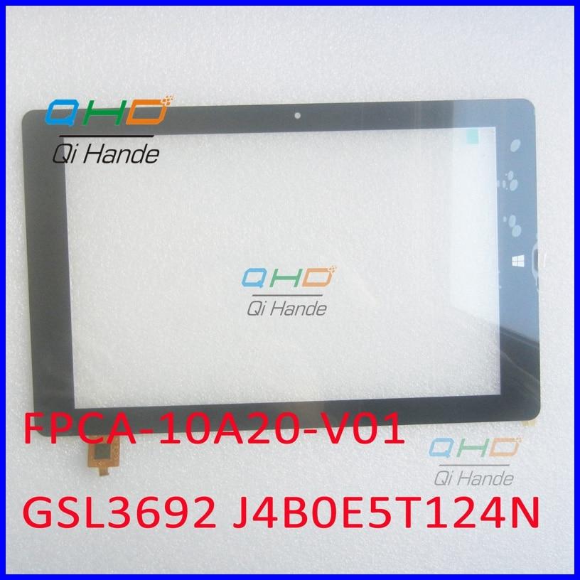 FPCA-10A20-V01 10.1 Inch 10A20B01 New Touch Screen Panel Digitizer Sensor Replacement IC code GSL3692 J4B0E5T124N / L5B0E67407N<br><br>Aliexpress