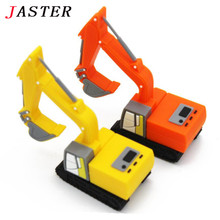 JASTER New truck model usb flash drive pen drive excavator special car pendrive 8gb 16gb 32gb memory stick real capacity