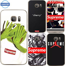 Luckydiy Suprem Case For Samsung Galaxy S7 S6 edge transparent Silicone soft Tpu Case for Fashion Popular Brand Cell Phone Cover