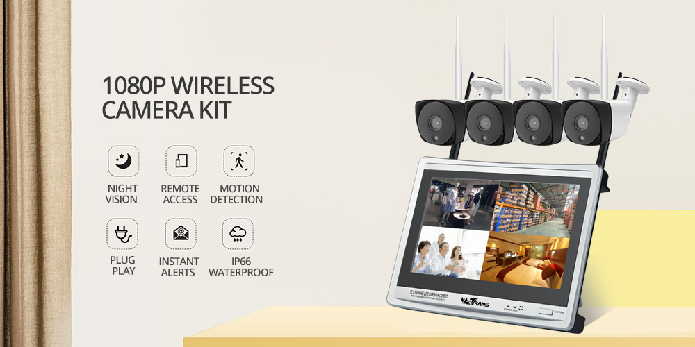 surveillance system NVR LCD