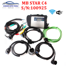 High Quality Full Chip PCB MB Star sd C4 Multi-Languages for CAR and TRUCK Powerful Function mb sd connect compact 4 DHL free