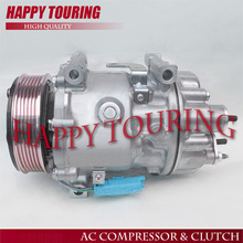 SD7V16 A/C Compressor for Citroen Jumpy DISPATCH For Peugeot 807 2.0 9687499380 648748(China)