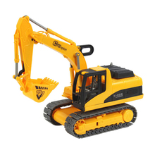 Children Engineering Vehicles Truck Super Excavator Model Simulation Car Children Toys Oyuncak Gift Best Kids Gifts Car Styling