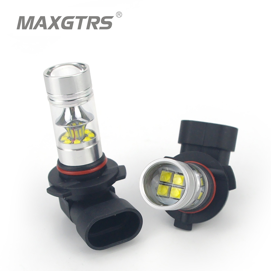High quality 100W 1000LM CREE Chip XBD 9005 LED Front Fog Lights Bulb HB3 Daytime Running Driving Light Fog Lamp 6000K White<br><br>Aliexpress