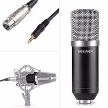 Neewer NW-700 Professional Studio Broadcasting & Recording Condenser Microphone Set Including: (1)Microphone + (1)Cable