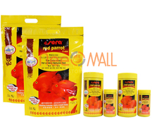 Sera Red parrot fish food granules 2mm 4mm float on water(China)