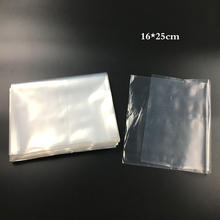 16x25cm 7dmm PE High Pressure Flat Bag LDPE Pocket Transparent Flat Pocket  Plastic Bag Storage Bags Family Daily Necessities
