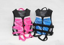 Professional adults and children Zipper type Swim Kayak Lifesaving Vest Buoyancy Aid Sailing Kayak Life Jacket Drifting(China)