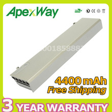 Apexway 4400mAh 11.1v battery for Dell Latitude ATG E6400 XFR E6410 E6500 E6510 Precision M2400 M4500 W1193 GU715 H1391(China)