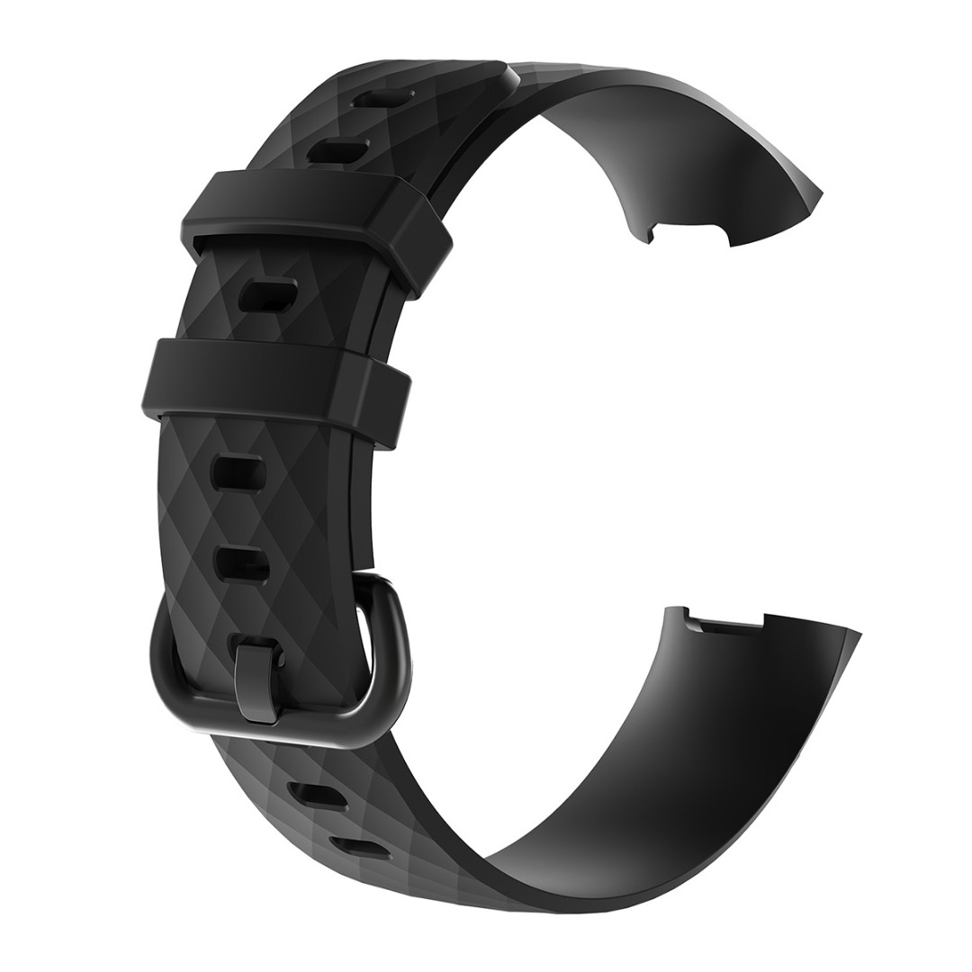 Outdoor Silicone Replacement Wrist Band Strap For Fitbit Charge 3 Wristband For Sports Wrist Support Replacement Accessories