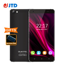 "Oukitel C5 Quad Core 3G Smartphone 5.0"" Tough Screen MT6580 Android 7.0 2GB RAM 16GB ROM 5MP 2000mAh GPS Dual SIM Mobile Phone"