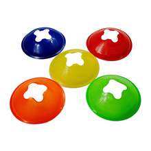 5Pcs/Lot Color Random 20*5CM Football Entertainment Accessories Cross Training Track Disc Cones Sports Safety Equipment Sign(China)