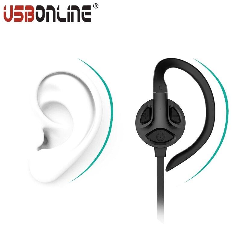 Sport Wireless Stereo Ear hook Earphone Bluetooth V4.1 Handsfree APTX Earphones For iPhone 6s 6 plus Samsung Xiaomi<br><br>Aliexpress