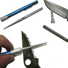 2017 Hot Sale Portable Professional Pen Shape Diamond Knife Sharpener Multi Purpose Grindstone Sharpening Stone Drop Shipping