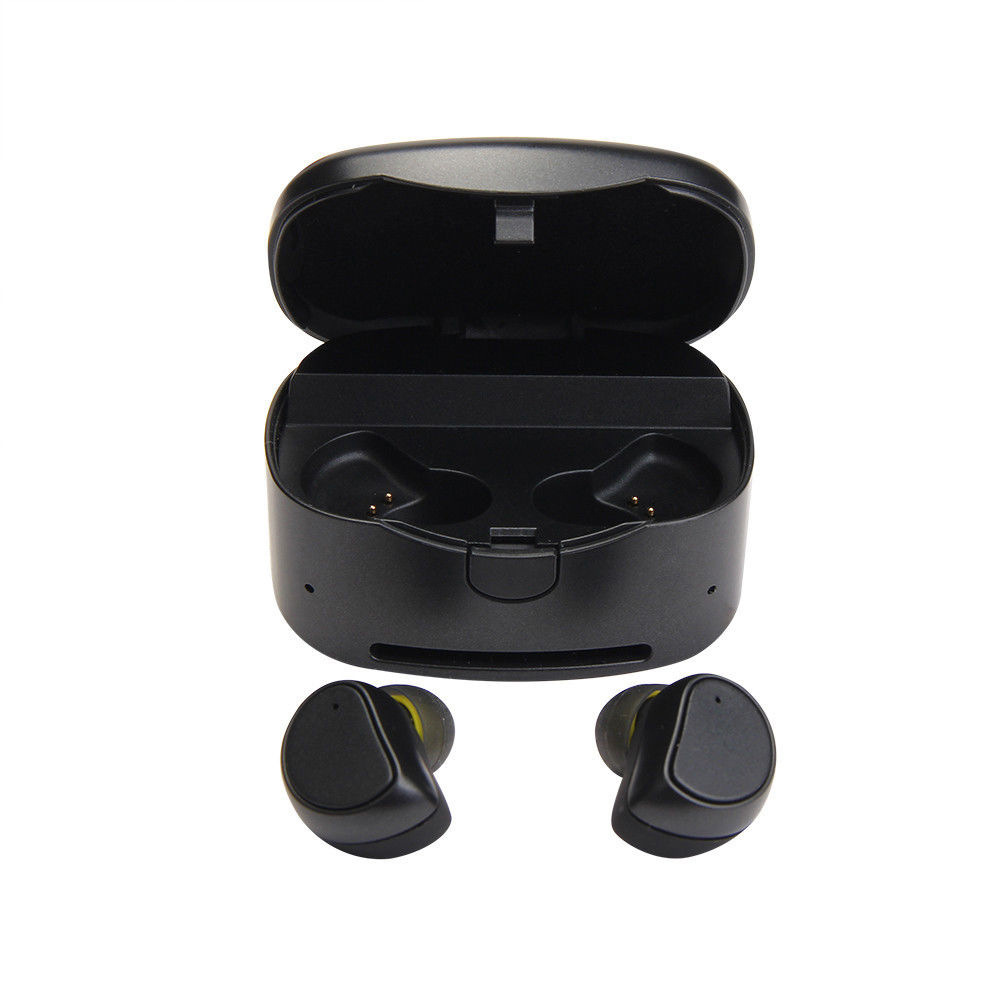 Original Mini Wireless Earphones 4.1 Bluetooth Earphones Duble Stereo Earbud With Mic Charging Box For iPhone Xiaomi Android<br>