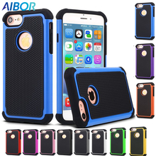 football style TPU&PC Hybrid Armor Rugged Shockproof phone cases for iphone 5 5s SE 6 6s 7 Plus Back Cover Silica Gel Back Shell