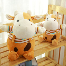 Cow Stuffed Animal Dolls Kids Soft Toys For Girls Gifts Birthday Dolls Wedding Plush Toys Stuffed Animals Cow Plush 70C0578