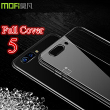 One plus 5 case silicon oneplus 5 case cover silicon MOFi A5000 soft TPU case coque one plus5 clear phone cases oneplus5 capa5.5