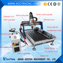 AKG 6090 mini cnc router for hobby / mdf manufacturing machinery(China)
