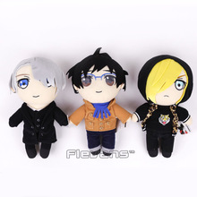 Anime Yuri on ice Katsuki Yuuri / Pulisetty / Victor Nikiforov Plush Toys Soft Stuffed Dolls 12inch 30cm(China)