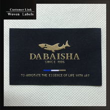 custom brand cothes labels sewing high grade woven label personalized custom satin care label for sewing clothes fabrics label