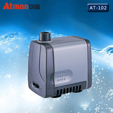 8W 500L/h Atman AT-102 Power Liquid Filter Nano Submersible Water Sump Pump Super Silent Aquarium Fish Tank Water Filter