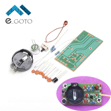 FM Frequency Modulation Wireless Microphone Module DIY Kit FM Transmitter Board Parts Kits Simple Electronic Production Suite(China)