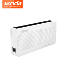 Tenda S108 8 ports Ethernet Switch Small and Smart desktop switch 8*10/100 Mbps RJ45 ports poe networking switchs(China)