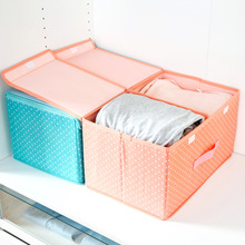 Foldable Storage box underwear cloth Fabric Organiser Bag toys storage bin cloth storage box