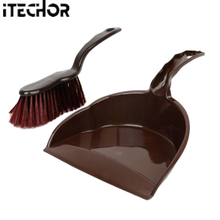 iTECHOR Mini Dustpan and Whisk Broom Set Small Keyboard Table Desktop Cabinet Cleaning Tool Set