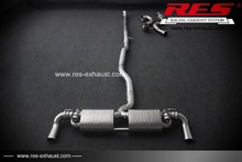 Cheap Auto Parts RES Racing For Benz CLA45 AMG Exhaust System Exhaust With Valve(China)
