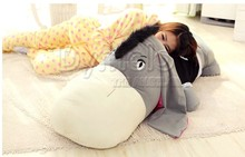 stuffed animal prone donkey plush toy 80cm donkey doll about 31 inch sleeping pillow toy p0569