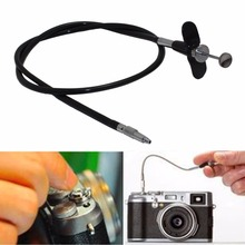 JUST NOW 70cm 27.5Inch Locking Mechanical Shutter Cable Release for Macro Photography/Long Time Exposures for Fuji Camera(China)