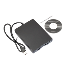 "2017 Hot 1.44Mb 500 Kbits 3.5"" USB External Portable Floppy Disk Drive Diskette drive FDD for Laptop pc notebook wholesale(China)"