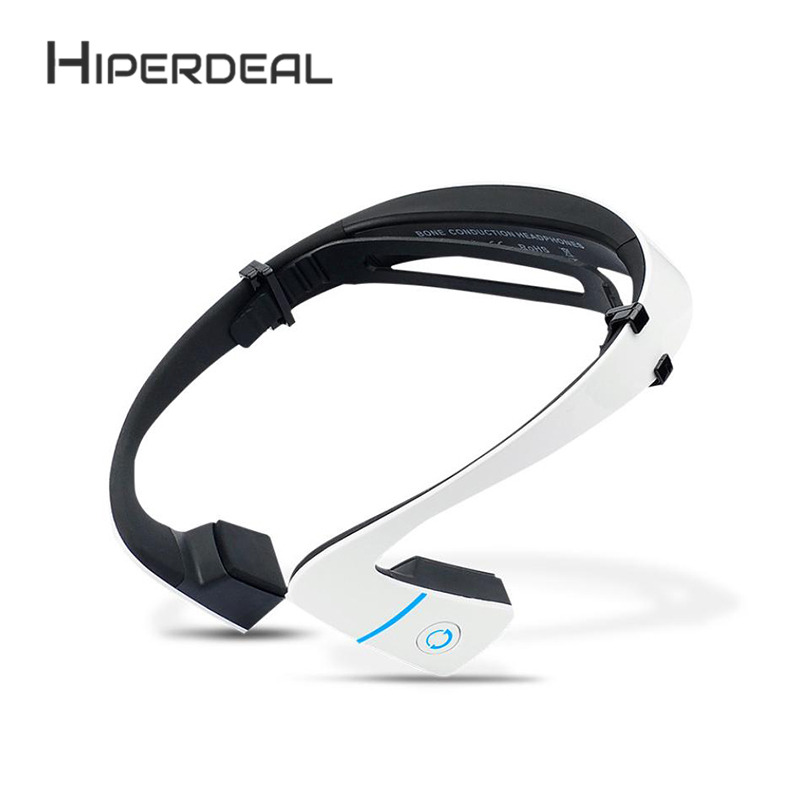 HIPERDEAL Smart Bone Conduction Headset Bluetooth Headset Voice Stereo Headphones Charging Noise Isolating in ear Earphone Sep8<br>