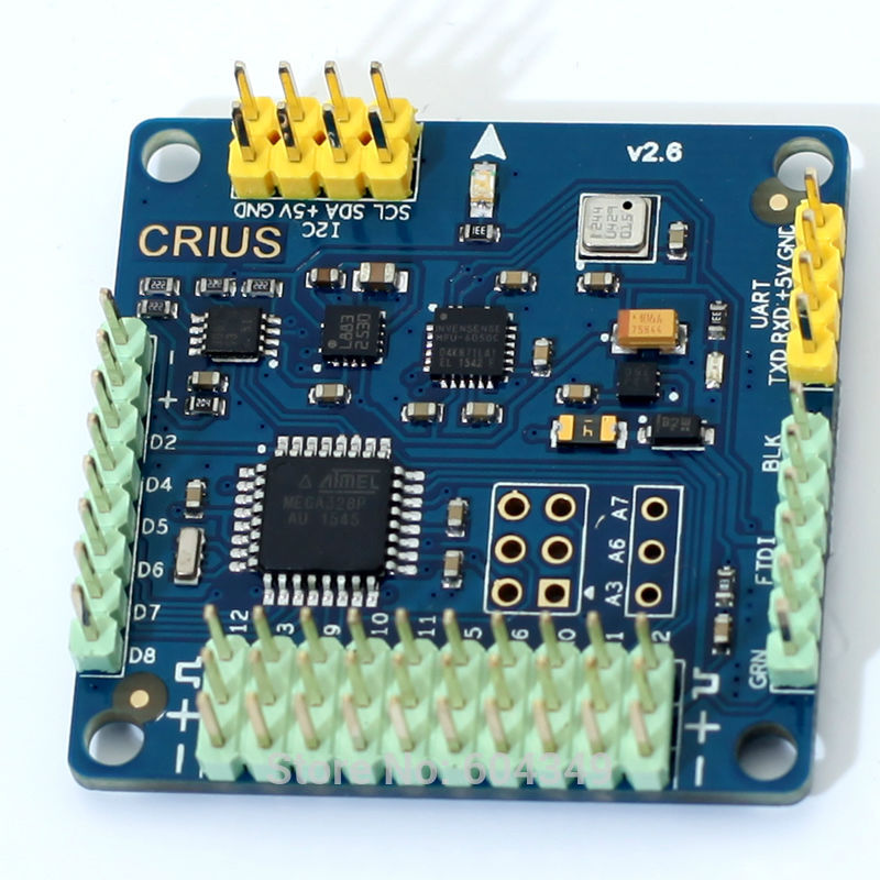 CRIUS  MWC SE v2.6 Supported 2-axis MultiWii Standard Edition Flight Controller<br><br>Aliexpress