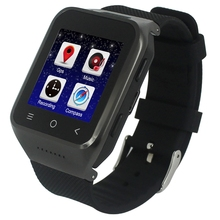 ZGPAX S8 Smart Watch Phone, 512MB+4GB, Built-in 8GB TF Card, Android 4.4.2, MTK6572 Dual Core 1.2GHz, WiFi, GPS, Network: 3G(China)