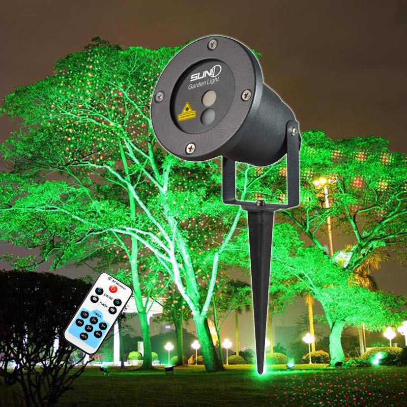 Suny Remote Christmas Outdoor RG Laser Light Show Projector Waterproof Lights For Holiday Xmas Tree Decorations Garden Lighting<br><br>Aliexpress