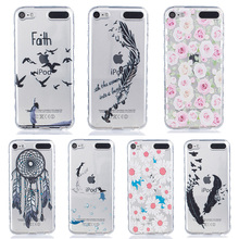 AKABEILA Soft TPU Mobile Phone Case Cover For Apple iPod Touch 5 5th 5G touch5 4.0 inch Smartphone Hoods silicone Case