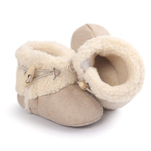 Casual Newborn Baby Winter Autumn Keep Warm Soft Sole Snow Boots Soft Crib Shoes Toddler Girls Boys Fashion New Arrival on Sale