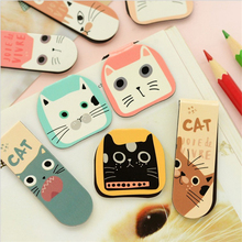 Cute cat picture bookmark  Creative creative bookmarks The book label for office teaching Reader's Gift page label