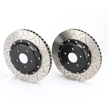 Car accessories DICASE brake rotors dragon type 355*32mm front rotors for 2004 BMW E46 330i for Brembo GT6 brake calipers(China)