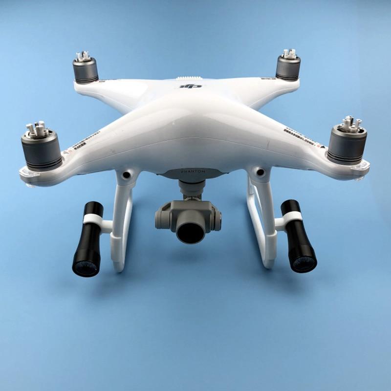1 set Night Flight LED Light Lighting lamp Use of AA battery for For DJI phantom 4 4pro Advanced Drone Accessories 1 (5)