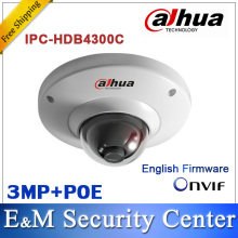 Original Dahua IPC-HDB4300C 3MP Waterproof IP Dome Camera IP66 Fixed Lens Onvif with POE IP CCTV IR Dome Camera