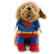 Armi store  Superhero Costume Suit Clothes For Dog Dogs Supermans Clothing  6171010 Pet Clothes Supplies XS S M L XL
