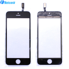 "Netcosy 4.0"" Touch Panel Screen Digitizer Front Glass Lens For iPhone 5S Touch Sreen For iphone5s Touchscreen Repair Parts(China)"
