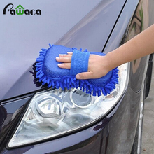 Car Hand Soft Towel Microfiber Chenille Washing Gloves Coral Fleece Gloves Auto car glove car cleaner brush Drop Shipping