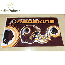 Washington Redskins 3ft*5ft (90*150cm) Size Christmas Decorations for Home Flag Banner Gifts(China)