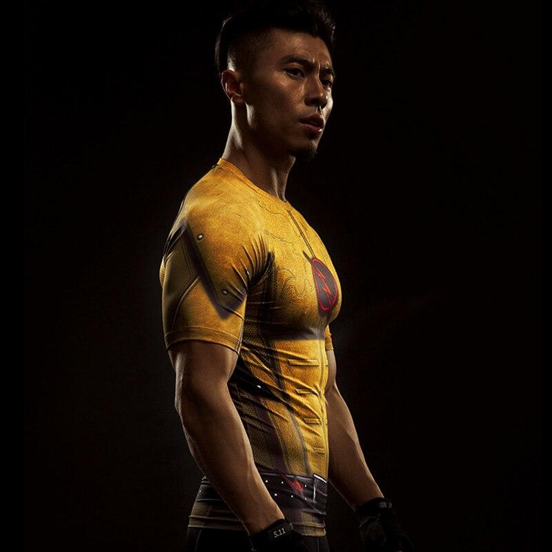 MMA Short Sleeve 3D T Shirt Men T-Shirt Crossfit Tops Punisher Crossfit Funny Superman tshirt Fitness Compression Shirt Tee 4XL 50
