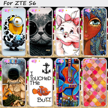 Mobile Phone Cover Suitable For ZTE Blade S6 Q5 Q5-T 5.0 inch Cases Hard Plastic&Soft TPU Wholesale Skin Cover Cell Phone Shell